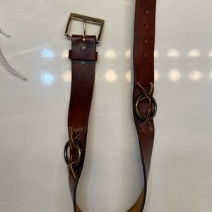 Accessories - Brown cowgirl leather belt